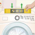 نحوه تراز کردن ماشین لباسشویی که لرزش و حرکت دارد