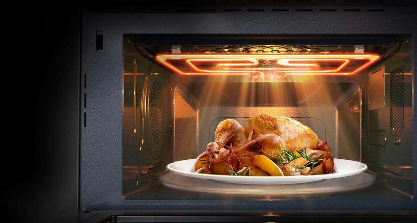 گرم کردن غذا در مایکروفر