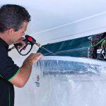 طریقه شستشوی پنل داخلی و خارجی کولر گازی