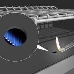 نحوه روشن کردن فر اجاق گاز